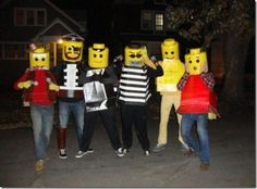 DIY Tutorial: DIY Men Halloween Costumes / How to Make Your Own Lego Brick Halloween Costume - Bead