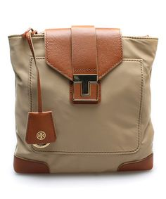 Another great find on #zulily! Mid Camel Penn Crossbody Bag #zulilyfinds