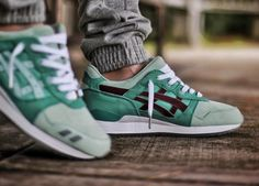 hot sale online a7b9a f01ba Highs and Lows x Asics Gel Lyte III Silver Screen Best Sneakers, Sneakers