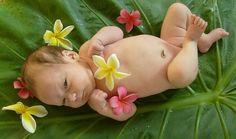 hawaiian baby pictures