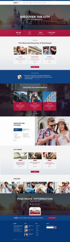 CityGov responsive premium WordPress theme has lots of customizable features for showcasing all the basic needs of a modern which makes it interesting for small or website. Government Website, City Government, Front End Design, Template Web, Page Web, Web Design Inspiration, Design Ideas, Website Layout, Premium Wordpress Themes