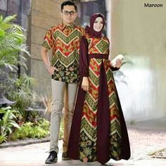 แบบเสื้อ Batik Fashion, Abaya Fashion, Muslim Fashion, Fashion Dresses, Model Dress Batik, Batik Dress, Batik Kebaya, Kebaya Dress, Batik Muslim