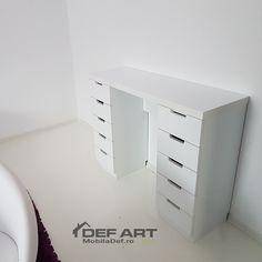 Masa toaleta cu sertare Filing Cabinet, Storage, Furniture, Home Decor, Purse Storage, Homemade Home Decor, Binder, Larger, Home Furnishings
