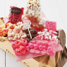 Pinkalicious from Olive and Cocoa Chocolate Covered Gummy Bears, Chocolate Covered Graham Crackers, Brian May, Candyland, Memorial Day, Olive And Cocoa, Marshmallow Sticks, Bar A Bonbon, Pink Chocolate
