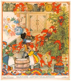 Aina Stenberg Masolle - Bernens Adventskalender