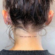 Als Melhores Tattoos de Pet - diy tattoo images - Tatoo Ideen Wörter Tattoos, Phrase Tattoos, Mini Tattoos, Tattoo Fonts, Body Art Tattoos, Small Tattoos, Tatoos, Arabic Tattoos, Dragon Tattoos