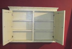Antique White Cottage Style Medicine Cabinets - traditional - bathroom storage - miami - Vienna Woodworks
