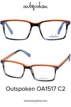 OUTSPOKEN OA1517 C2 Eyewear, Glasses, Easy, Men, Style, Swag, Eyeglasses, Eyeglasses, Guys