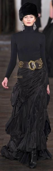 Ralph Lauren Fall Winter 2013/ the skirt...