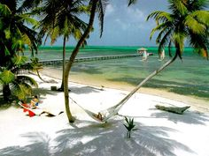 Ambergris Caye Beach at Caribbean Villas