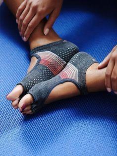 Toesox Namaste Yoga Sock at Free People Clothing Boutique. https://www.freepeople.com/whats-new/namaste-yoga-sock/