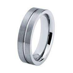 Titanium Wedding Band Men Titanium Rings Mens by GiftFlavors, $111.77