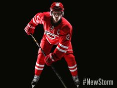 #Canes Red #NewStorm Jersey