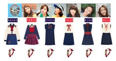 Designer Clothes, Shoes & Bags for Women Stage Outfits, Kpop Outfits, Cute Outfits, Girl Outfits, Fashion Idol, Pop Fashion, Anime Art Girl, My Wardrobe, Evening Dresses