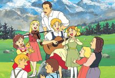 "トラップ一家物語 ・ ""Trapp Family Story"" ・ 1991 ・ (Adapted from the book - ""The Story of the Trapp Family Singers"" by Maria Augusta von Trapp, which also inspired the musical - ""The Sound of Music"" and its film version.)"