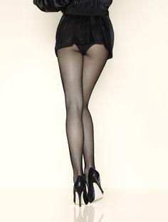 0 sexy long legs in fishnet