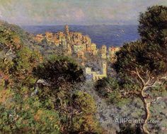 Claude Monet View Of Bordighera oil painting reproductions for sale