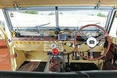 Land Rover series - interior mods
