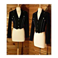 Women's Western Jacket Cropped coat Rodeo by OpenMarketVintage