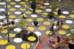 Urban Design, All Design, Landscape Architecture, Landscape Design, Linear Park, Public Realm, Ping Pong Table, Table Settings, Colours
