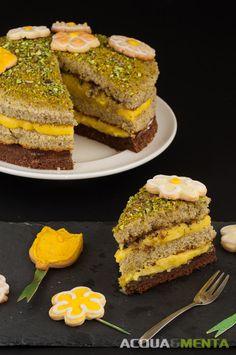 pan di spagna al pistacchio cacao leonardo di carlo orange curd cioccolato modica pistacchio bronte
