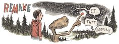 E.T. by Liniers