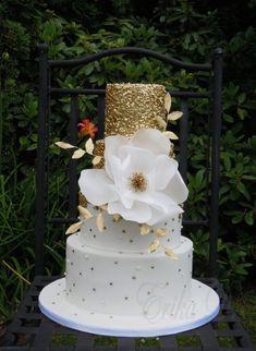 wedding cake - cake by Derika