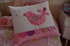 Singing Bird Cushion (from Lululollylegs)
