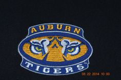 Auburn+Tigers+iron+on+embroidery+patch+by+patchesNrhinestones
