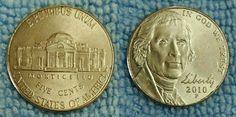 2010P five cents MONTICELLO