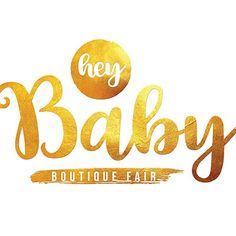 Rose and Vickoryco Baby Store, Typography, Company Logo, Logos, Rose, Letterpress, Pink, Letterpress Printing, Logo