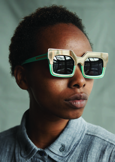 Karen Walker Eyewear and ITC Ethical Fashion Initiative join forces to deliver paid work to artisans in Kenya. Photo: Derek Henderson