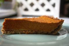 Live Free From: PALEO PUMPKIN PIE