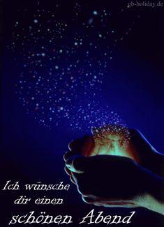 Ich wünsche dir einen schönen Abend