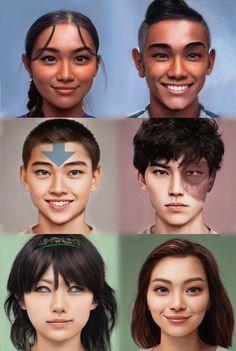 NickALive!: The 'Avatar: The Last Airbender' Crew Gets an Impressive Live-Action Makeover Avatar Kyoshi, Korra Avatar, Team Avatar, Azula, Avatar Studios, Avatar World, Avatar Characters, Avatar The Last Airbender Art, Korrasami