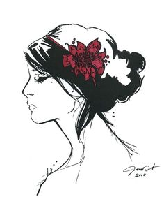 fascinator jessica illustration etsy, I have this one :)