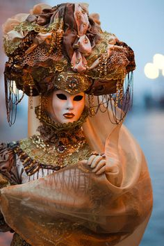 Carnevale di Venezia. I'd live to go to Venice for carnivale at some point in my life
