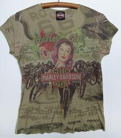 32b8e7415095 Harley-Davidson Graphic Tee Regular L T-Shirts for Women. Harley Davidson T  ShirtsRetro ...