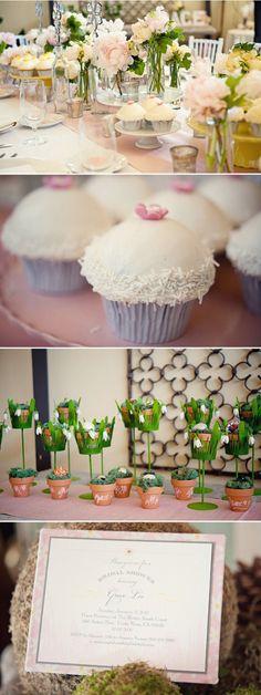 adorable bridal luncheon