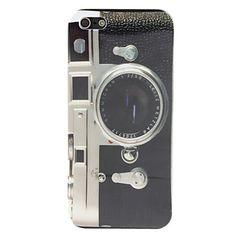 Carcasa Dura de Diseño de Cámara Fotográfica para el iPhone 5 – USD $ 3.99