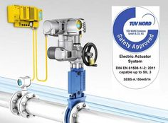 TUV Certification Achieved by Actuator Specialist