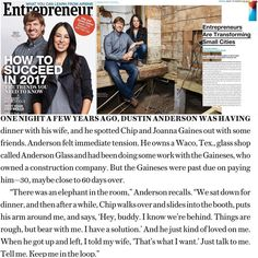 To say that @andersonglass has been blessed with the opportunity to do work with Magnolia is an understatement. To know that the journey to this point is one that very few stayed on is humbling.  To read about it in @entrepreneur magazine is exciting.  This article explains that while the business relationship is awesome now, it may not have always been, but when most folks that owe you money dodge you, @chippergaines came right up to me and told me to hang on, he was gonna get me my money…