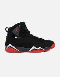 best website 40d44 78907 Jordan True Flight (Black Gym Red-Metallic Silver) Jordans, Metallic