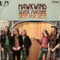 "Hawkwind ""Silver Machine"" - Spain Single (1972)"