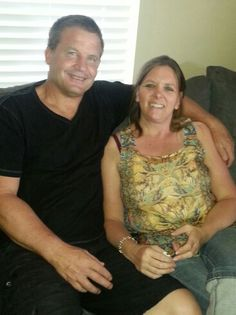 My dad and his precious wife Staci ♡