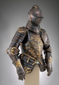 Anton Peffenhauser | Foot-Combat Armor of Prince-Elector Christian I of Saxony (reigned 1586–91) | German, Augsburg | The Metropolitan Museum of Art