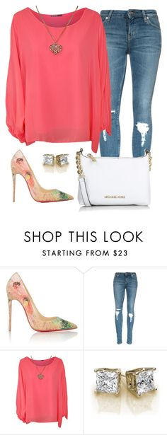 """""""Is it Spring yet????"""" by mycl0set ❤ liked on Polyvore featuring Christian Louboutin, WearAll and Michael Kors"""