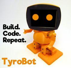 TyroBot the DIY Humanoid Robot Kit Launches on Kickstarter http://ift.tt/2uUk3nb