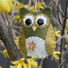 Felt Owl....love!!