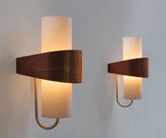 wall lamps | Louis Kalff | Philips | type NX40 | Holland | 1955 | www.b22design.nl